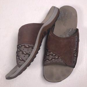 Merrell bracken sandals outdoor comfort brown sz 9